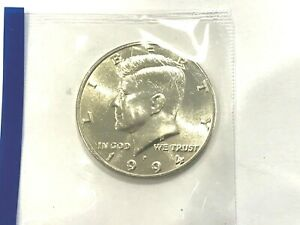 1994 P KENNEDY HALF DOLLAR IN MINT CELLO  VERY NICE COIN