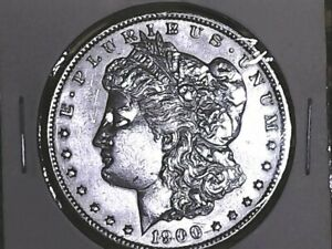 1900 MORGAN DOLLAR  1900 BOEFAUD010F