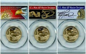 2019 P $1 SACAGAWEA DOLLAR COIN  3COINS SET  PCGS SP70 NATIV/ARROW POP A/EAGLE B