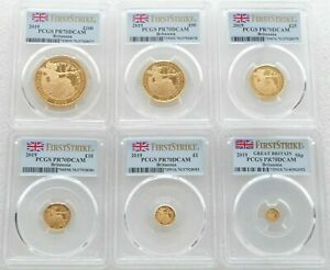 Click now to see the BUY IT NOW Price! 2019 GREAT BRITAIN BRITANNIA GOLD PROOF 6 COIN SET PCGS PR70/69DCAM FIRST STRIKE