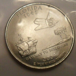 2004 D FLORIDA QUARTER   MINT CELLO