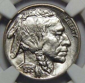 Click now to see the BUY IT NOW Price! 1935 NGC MS68 BUFFALO NICKEL