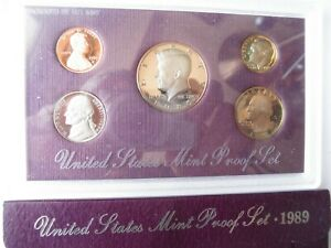 1986 S  U.S.PROOF SET.IN ORIGINAL PACKAGING AS ISSUED BY US MINT.