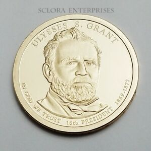 2011 S ULYSSES S. GRANT PRESIDENTIAL   PROOF   DOLLAR COIN