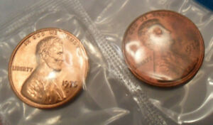 1976 P & D LINCOLN MEMORIAL CENT / PENNY SET  MINT CELLO   SDS