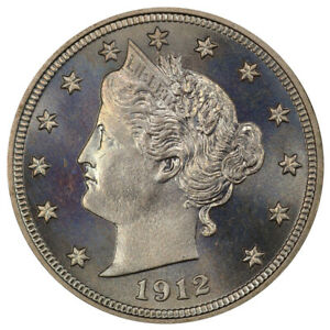 Click now to see the BUY IT NOW Price! 1912 5C PCGS PR67  CAC