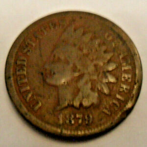 1879 P INDIAN HEAD CENT PENNY  SDS