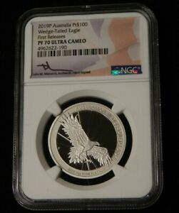 Click now to see the BUY IT NOW Price! 2019 AUSTRALIA $100 1 OZ PLATINUM WEDGE TAILED EAGLE NGC PF70 ULTRA CAMEO MERCAN