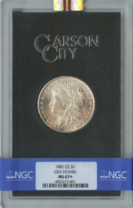 Click now to see the BUY IT NOW Price! 1881 CC MORGAN DOLLAR GSA HOARD S$1 NGC MS67