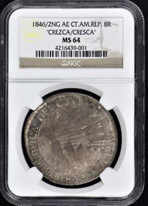 Click now to see the BUY IT NOW Price! 1846/2NG AE CT.AM.REP. 8R NGC MS64 CREZCA / CRESCA FINEST GRADED