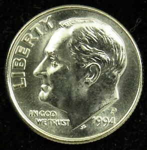 1992 P+D Roosevelt Dime Set ~ Uncirculated Coins in Mint Cello