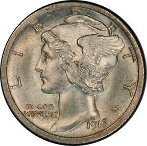 Click now to see the BUY IT NOW Price! 1916 D 10C PCGS MS64