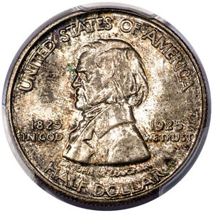 Click now to see the BUY IT NOW Price! 1925 50C VANCOUVER PCGS MS66  CAC