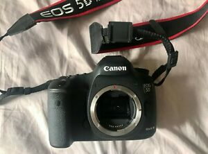 CANON EOS 5D MARK III 22.3MP DIGITAL SLR CAMERA   BLACK  BODY ONLY