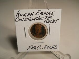 CONSTANTINE THE GREAT  ROMAN EMPIRE COIN ANCIENT C.330 AD