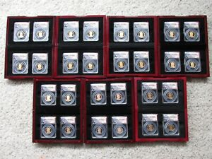 Click now to see the BUY IT NOW Price! 2009 S THRU 2015 S PRESIDENTIAL PROOF SETS ANACS PR70 DCAM