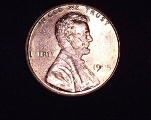1995 P LINCOLN CENT PENNY CLOGGED DIE ERROR COIN