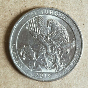 2012 AMERICA THE BEAUTIFUL QUARTER EL YUNQUE PR US COIN D