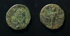 D730 ROMAN BRONZE ANTONINIANUS COIN OF CLAUDIUS II MINTED BETWEEN 268 270 AD.
