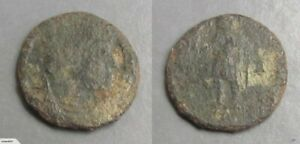 D041 ROMAN COIN OF MAGNENTIUS MINTED BETWEEN 351 354 AD.