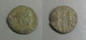 D006 ROMAN COIN ISSUED BY MAGNENTIUS BETWEEN THE YEARS 350 353 AD.