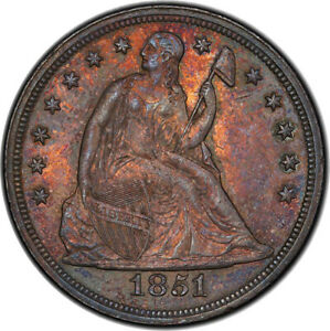 Click now to see the BUY IT NOW Price! 1851 $1 PCGS MS62
