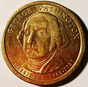 GEORGE WASHINGTON PRESIDENTIAL AMERICAN EAGLE ONE DOLLAR COIN