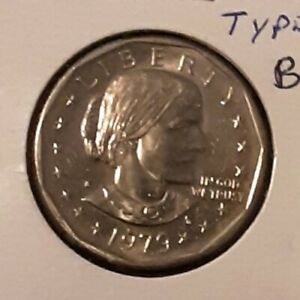 1979 S $1 SUSAN B ANTHONY PROOF DOLLAR TYPE 1 FILLED