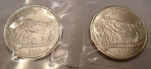 2006 P & D COLORADO QUARTER SET  2 COINS   MINT CELLO