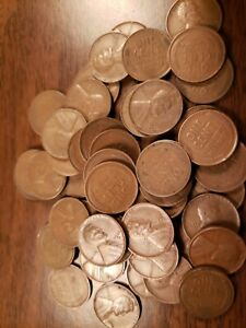ROLL OF 1930 D LINCOLN WHEAT CENT PENNIES ABOVE AVERAGE