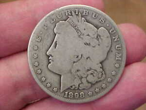1898 S SAN FRANCISCO MORGAN SILVER DOLLAR FULL RIM DATE LIBERTY LETTERING
