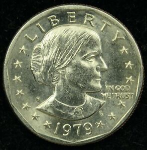 1979 S UNCIRCULATED SUSAN B. ANTHONY DOLLAR BU  C01