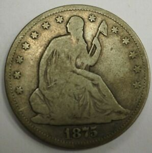 1875 CC SEATED HALF DOLLAR 11