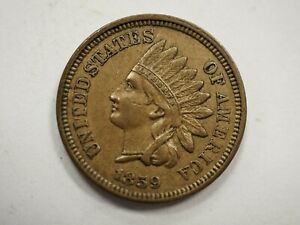 1859 INDIAN HEAD PENNY 6