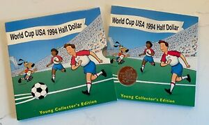 WORLD CUP USA 1994 D COMMEMORATIVE HALF DOLLAR YOUNG COLLECTOR'S EDITION MINT
