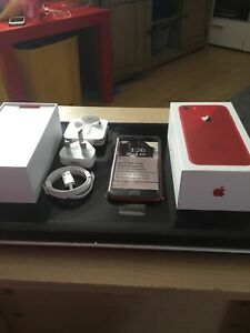 APPLE IPHONE 8 RED  64GB  IN GOOD CONDION ON O2