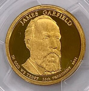 2011 S $1 JAMES GARFIELD DOLLAR FIRST STRIKE PCGS PR69DCAM