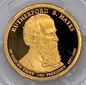 2011 S RUTHERFORD HAYES PRESIDENTIAL PROOF DOLLAR PCGS PR69DCAM FIRST STRIKE