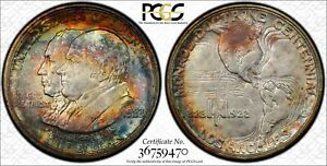 Click now to see the BUY IT NOW Price! 1923 S CLASSIC COMMEMORATIVE MONROE DOCTRINE CENTENNIAL PCGS MS 66 MONROE