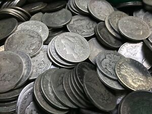 Click now to see the BUY IT NOW Price! PRE 1921 SILVER MORGAN DOLLAR CULL LOT OF 1 000 S$1 COINS  CREDIT CARD PMT ONLY