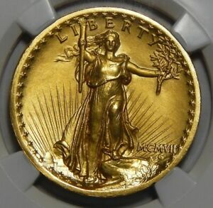 Click now to see the BUY IT NOW Price! 1907 NGC PF65 HIGH RELIEF $20 ST GAUDENS GOLD