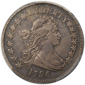 Click now to see the BUY IT NOW Price! 1796 50C 15 STARS PCGS VF35 CAC