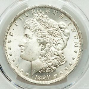 1890 O PCGS MS64 BETTER DATE MORGAN SILVER DOLLAR BRIGHT LUSTROUS WHITE GEM BU