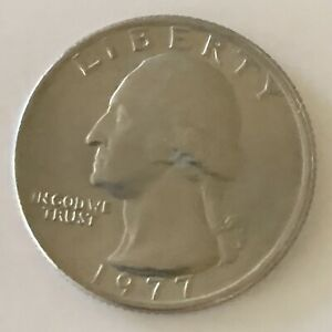 1977 P WASHINGTON QUARTER UNCIRCULATED US COIN 25C   COMBINED SHIPPING