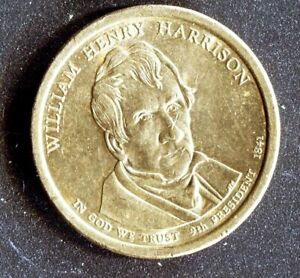2009 WILLIAM HARRISON PRESIDENTIAL AMERICAN EAGLE ONE DOLLAR GOLD COIN NICE