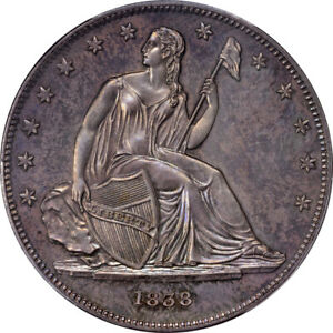 Click now to see the BUY IT NOW Price! 1838 $1 J 84 RESTRIKE PCGS PR64 CAC