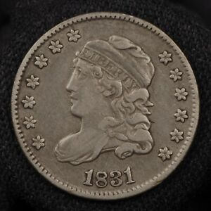 1831 CAPPED BUST HALF DIME    XF CONDITION