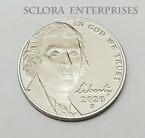2020 S JEFFERSON  PROOF  NICKEL