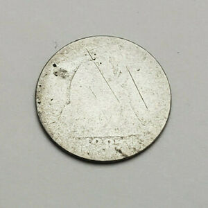 1887 P SEATED LIBERTY DIME    90  SILVER     PR   POOR