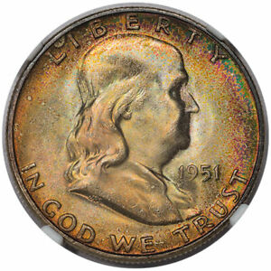 Click now to see the BUY IT NOW Price! 1951 S 50C  NGC MS67 FBL CAC